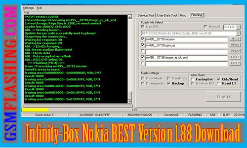 infinity box download nokia