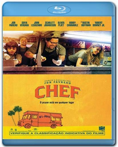Baixar Filme Chef 720p + 1080p Bluray + AVI Dual Audio BDRip Download via Torrent