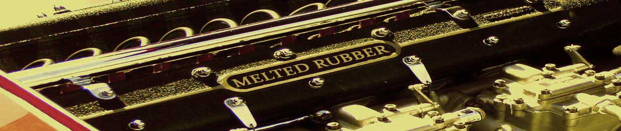Melted Rubber