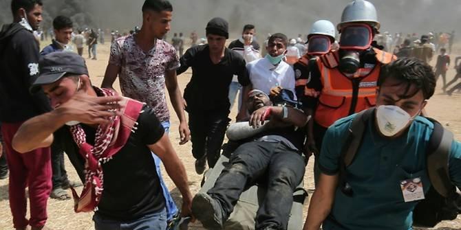 Semakin Brutal, Empat Warga Palestina Tewas Ditembak Israel di Gaza