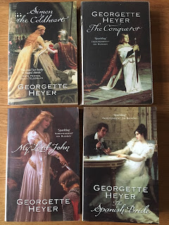 Various Georgette Heyer books