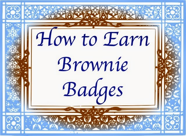 What patches do brownies earn