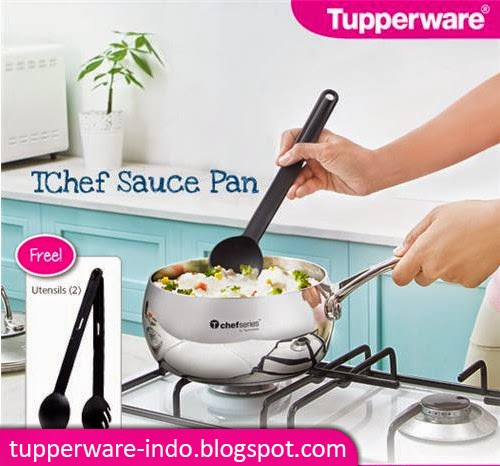 Tupperware TChef Sauce Pan