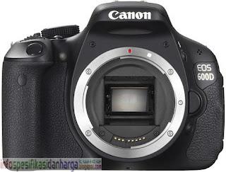 Harga CANON EOS 600D Kamera Digital Terbaru 2012