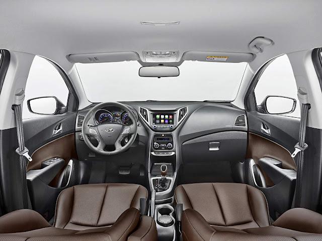 Hyundai HB20X 2016 - interior - painel