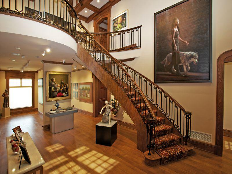 Victorian Style Foyer : Old world gothic and victorian interior design