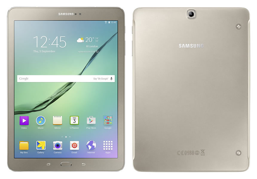 The New Samsung Galaxy Tab S2 9.7