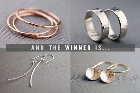 The LilyEmme Jewelry Giveaway Winner // Bubby and Bean