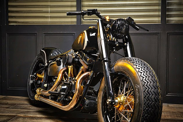 Harley Davidson Bobber | Crowned Stallion The latest custom build from the Rough Crafts Taiwan. Based on Harley Davidson Softail Slim. The Harley Davidson Bobber is named Crowned Stallion,