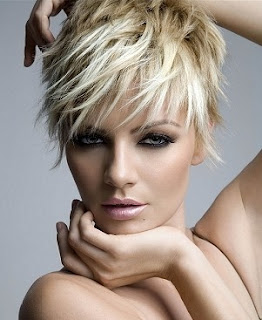 Modern messy short women hairstyels for summer 2011
