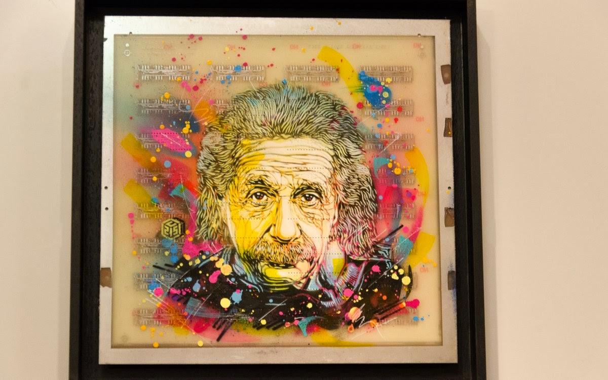 musée des arts et métiers  - expo c215 - Einstein