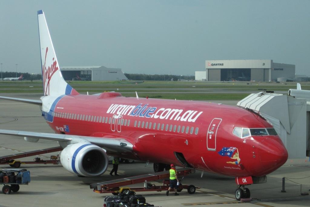 virgin blue airlines