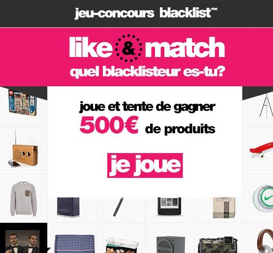 Jeu concours Gagnez 500 euros de produits