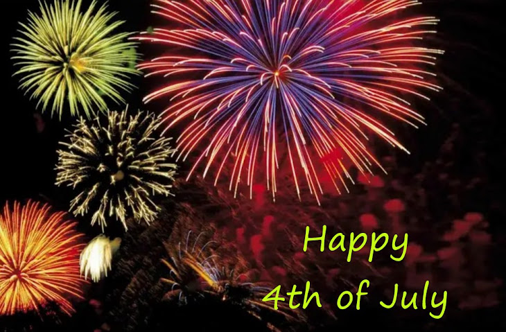 HAVE A SAFE & HAPPY 4TH OF JULY
