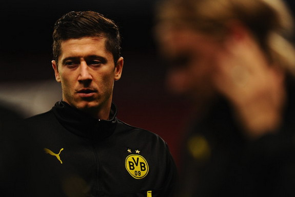 Robert Lewandowski will be swapping Black and Yellow for Red come the new season