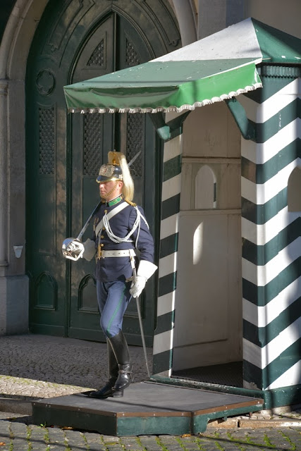 General Impressions of Lisbon guard