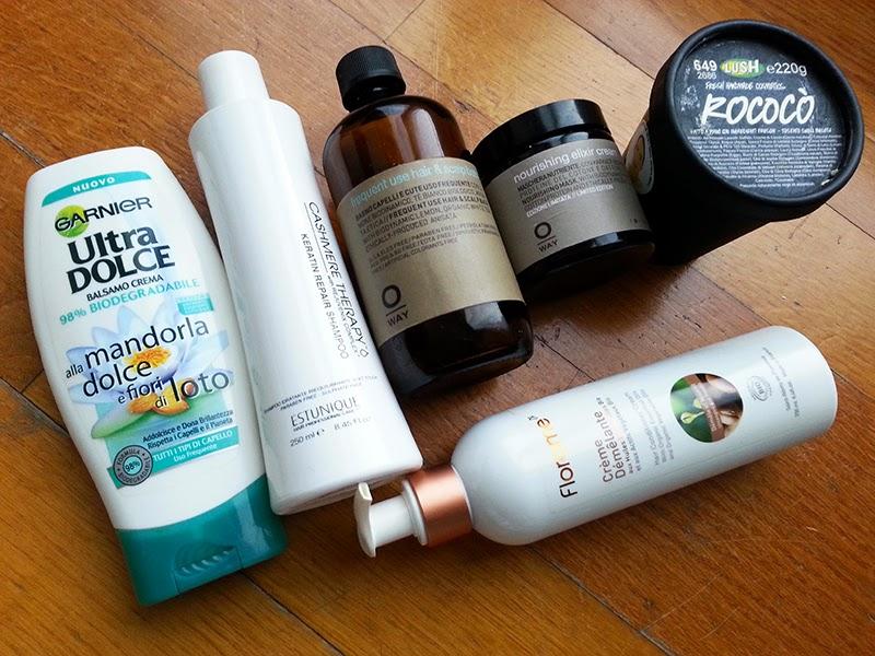 prodotti finiti 2015, empties, haircare