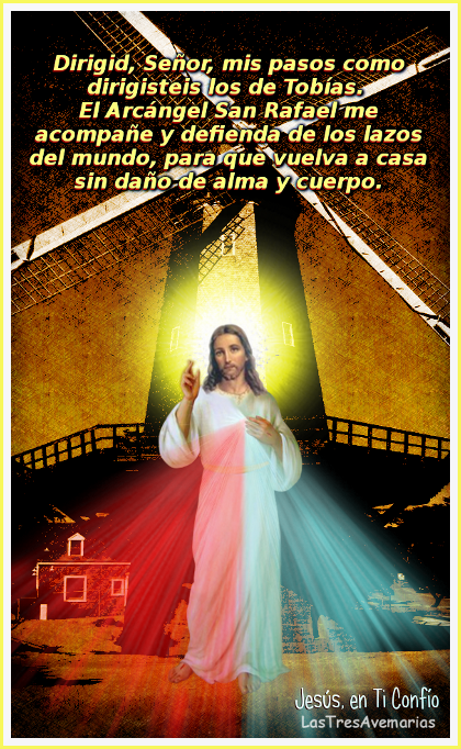 imagen de jesus misericordiso con oracion
