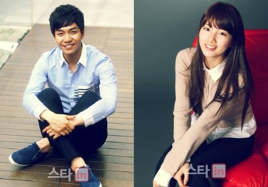 Lee Seung GI and Suzy