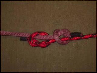 Simpul-kembar-nelayan-fhiserman's-knot