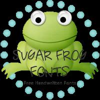 Sugar Frog Fonts