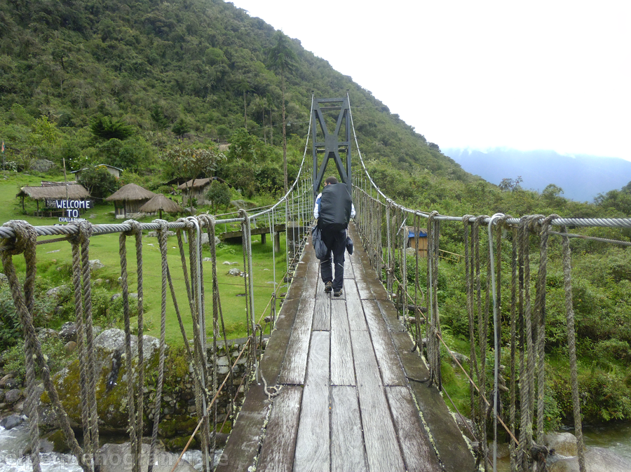 Challapampa, Choro trek