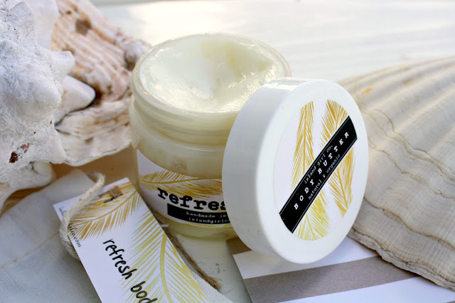 Image of the Island Girl Co. Refresh Body Butter open product
