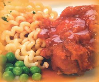 Pollo a la pomarola
