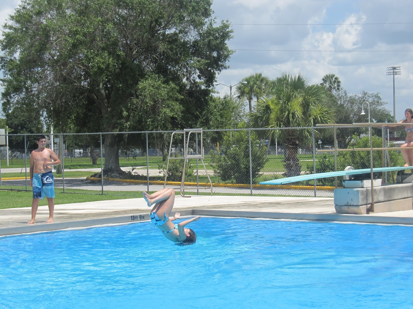 News From Florida An Afternoon In The Swimming Pool