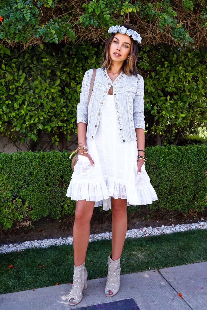 REBECCA MINKOFF Kemper dress, Coachella 2015 outfit