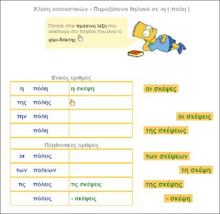 http://inschool.gr/G6/LANG/OUSIASTIKA-KLISI-THILIKA-se-H-POLH-LEARN-G6-LANG-MYcomplete-1311102215-tzortzisk/index.html