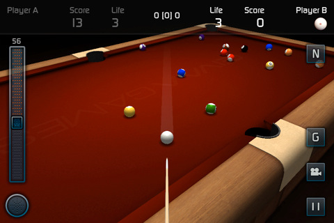 3DPool Game iphon