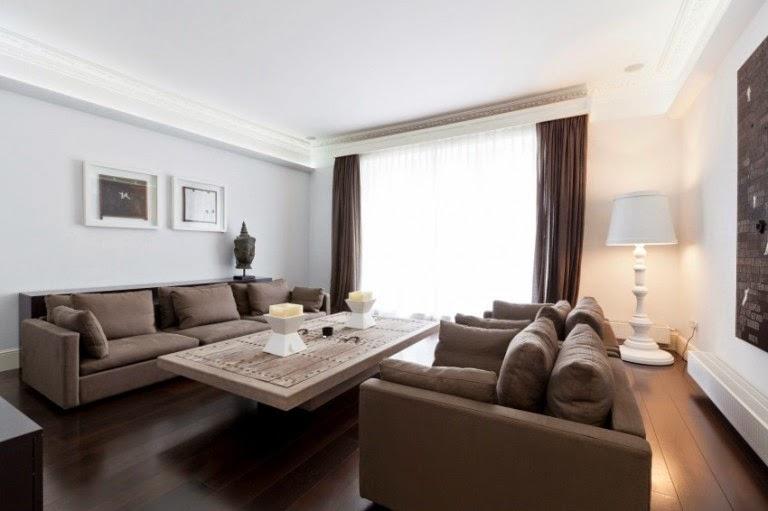 Hogares frescos apartamento triplex sensacional de - Apartamentos de lujo en londres ...