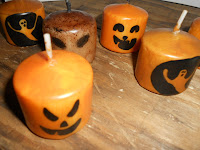 More Halloween Candles