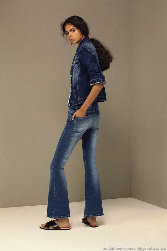 Jeans primavera verano 2016 María Cher.