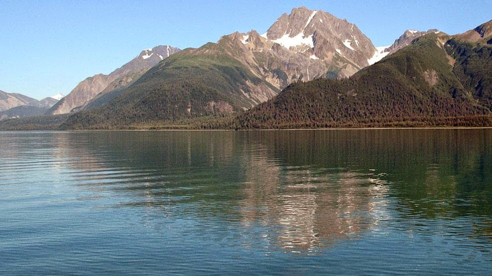 Muir Glacier & Inlet in (2005) - Photos of Alaska Then And Now. Get Ready to Be Shocked When You See What it Looks Like Now.