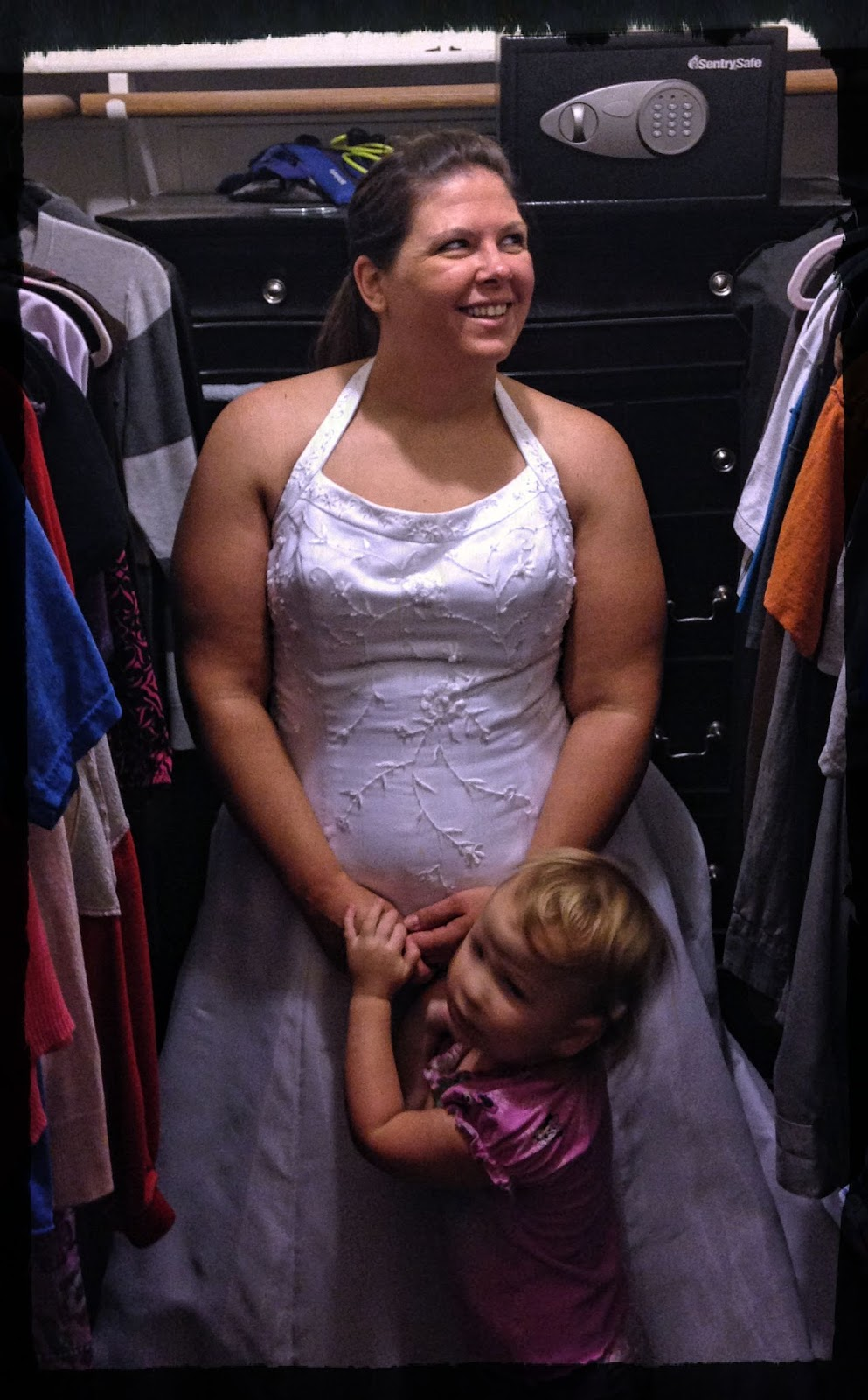 Called for motherhood i fit in my wedding dress for Losing weight for wedding dress