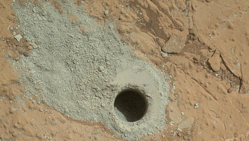 Spikes in Methane Detected By Curiosity Rover on Mars Could Point To Life