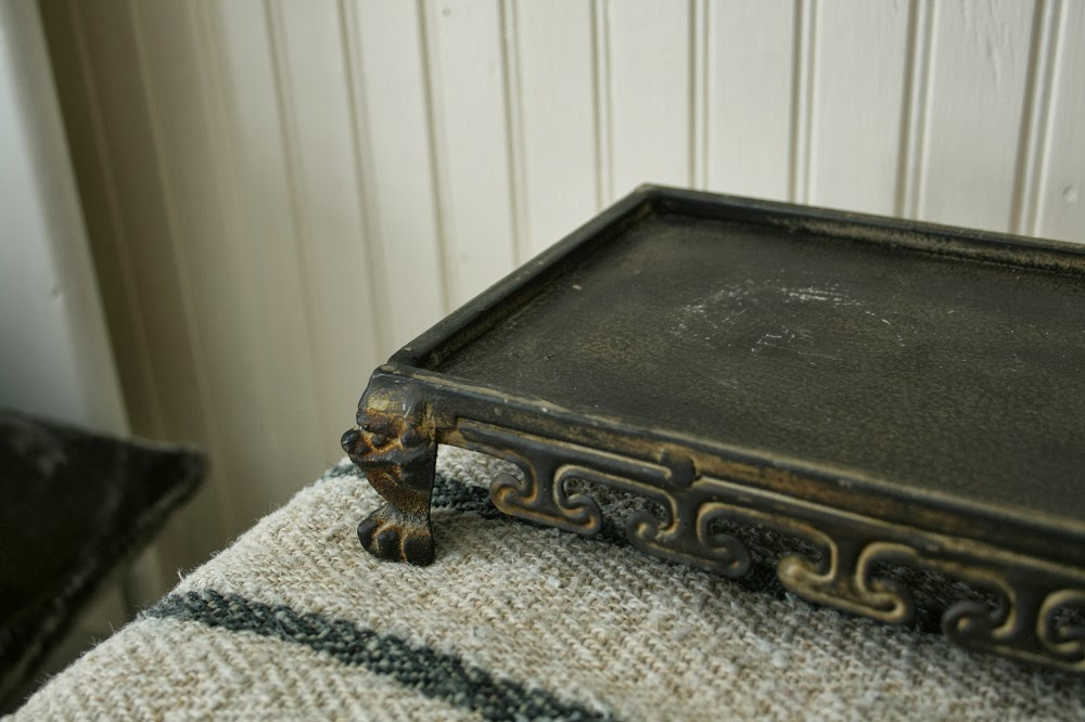 Claw foot tray, paw foot tray, decor, anthropologie, whimsical