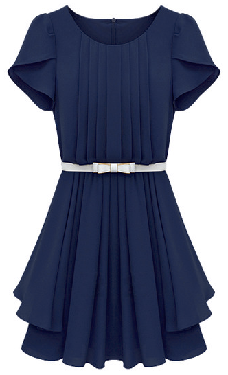 http://fr.sheinside.com/Blue-Ruffles-Short-Sleeve-Pleated-Chiffon-Dress-p-136740-cat-1727.html