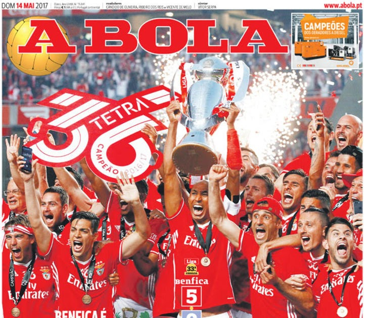 Benfica Tetracampeão 16*17