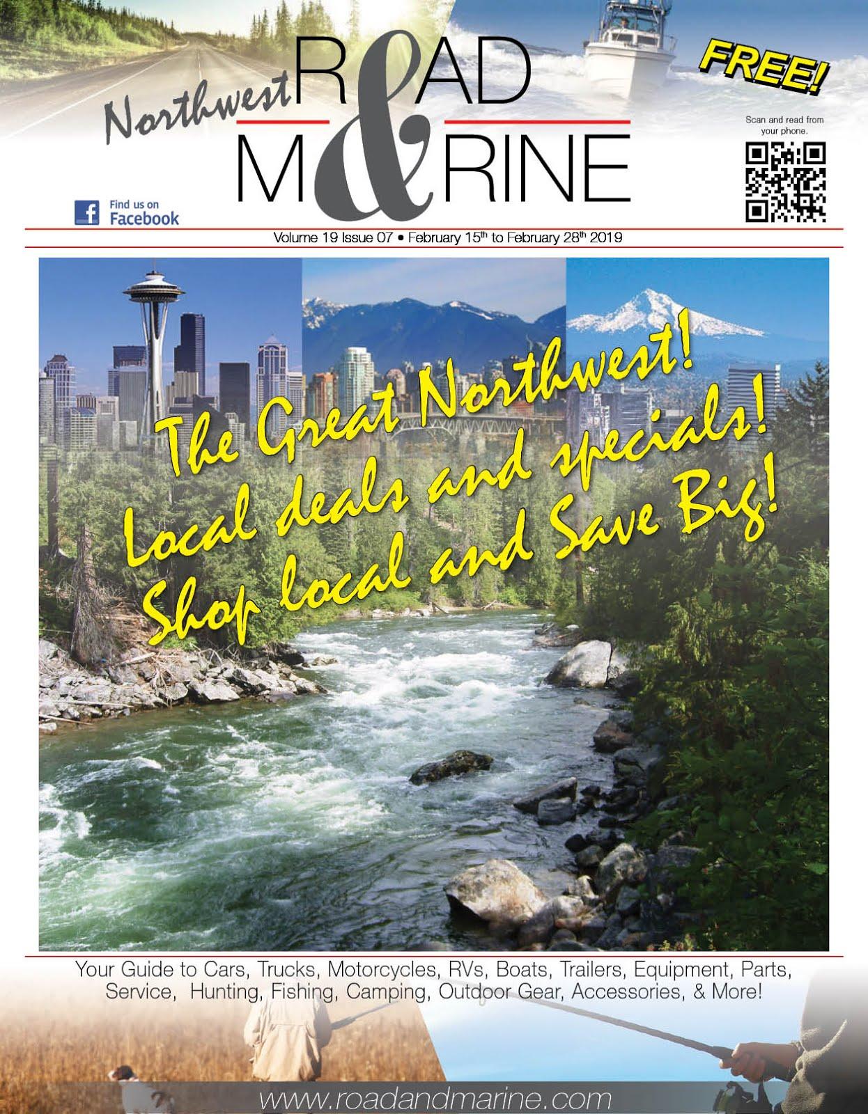 Lew's Guy Stuff© Says Check Out Northwest Road & Marine Glossy & Digital Magazine!