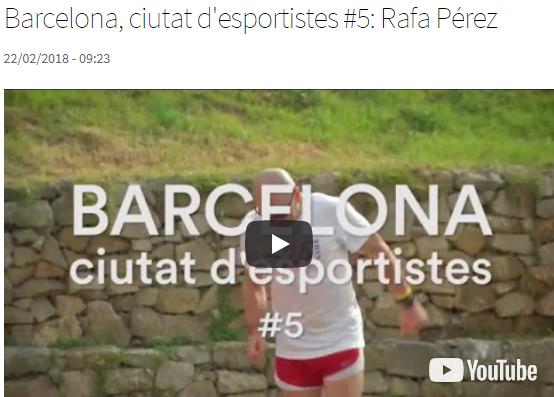 Barcelona, Ciutat d'Esportistes: Rafa Pérez