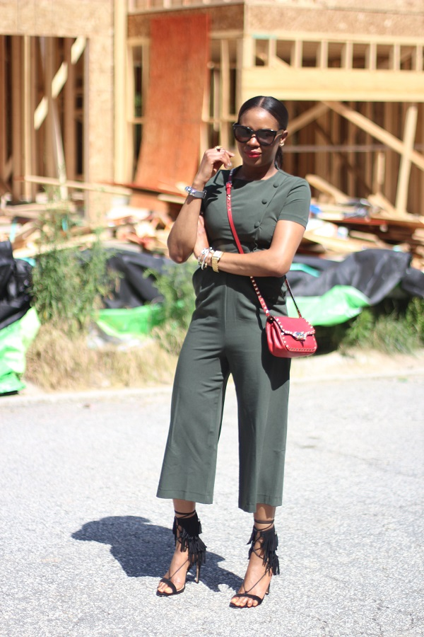 asos, jumpsuit, romper, green jumpsuit, military jumpsuit, fringe, fringe sandals, summer trends, schutz, schutz shoes, schutz fringe shoes, black sandals, red bag, valentino bag, rockstuds, rock stud bag, valentino bag, celine, celine sunglasses, gorjana, crawler earrings, corss body bag,  MONDAY MOTIVATION, MCM, MONDAY, NEW WEEK, TODAY, STYLE INSPIRATION , MONDAY STYLE INSPIRATION, rawler earrings, earrings, valentino, rocks studs, valentino rocks studs, celine, tortoise shell, tortoise sunglasses, celine sunglasses, celine clutch, blue clutch, blue bag, red lips, red lipstick, michele watch, gold watch, SPRING TRENDS, SPRING FASHION, SPRING STYLE, fashion, fashion friday, tgif,  reed krakoff cuff, silver cuff, reed krakoff,   FASHON, STYLE, FASHION BLOG, FASHION BLOGGER, F BLOGGER, STYLE BLOG, STYLEBLOGGER, STYLIST, STYLISH, STREETSTYLE, PERSONAL STYLE, PERSONAL STYLE BLOGGER, BLOGGER, BLOG, INSTA STYLE, INSTA FASHION, WHAT TO WEAR, OOTD, FASHION OF THE DAY, STYLE OF THE DAY, FASHION AND STYLE, winter STYLE, WHAT TO WEAR FOR This season, MUST HAVE, winter TRENDS, fashion TRENDS  , Atlanta blogger