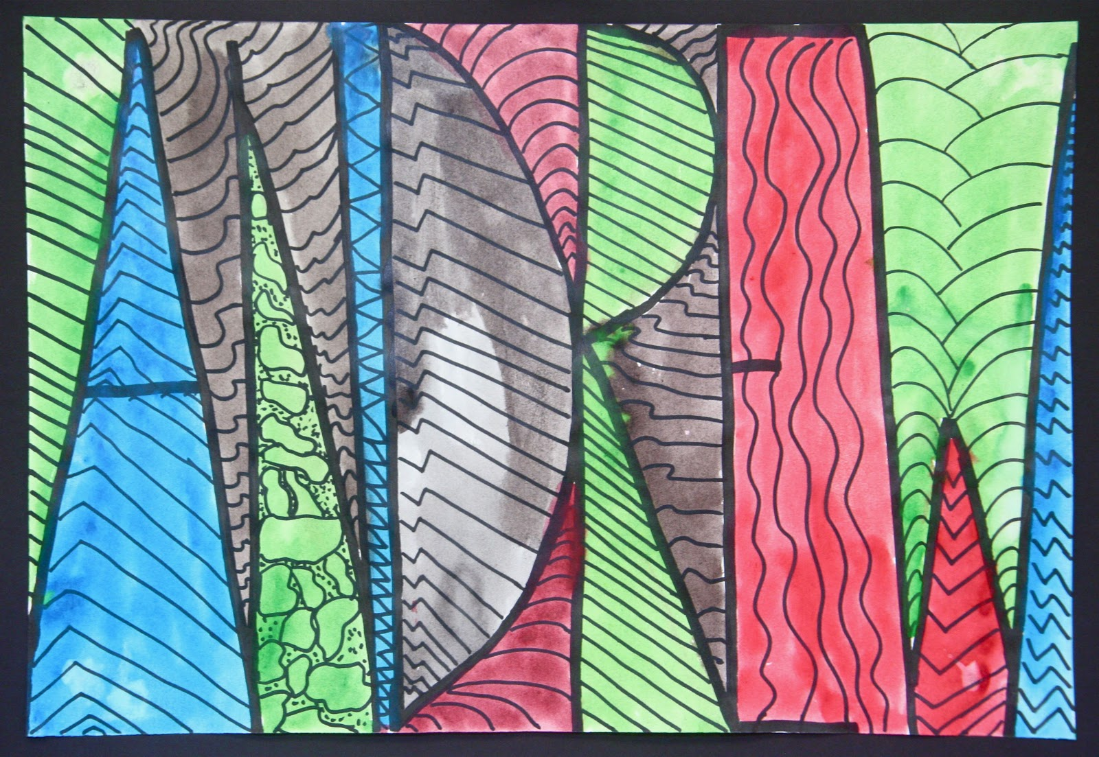 Name Design Art : Splish splash splatter abstract name designs finished