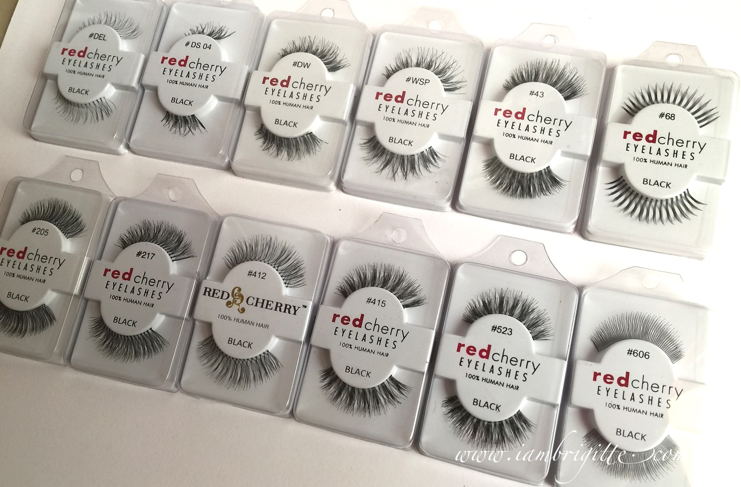 Iambrigitte My Favourite False Eyelashes Atm Red Cherry Lashes