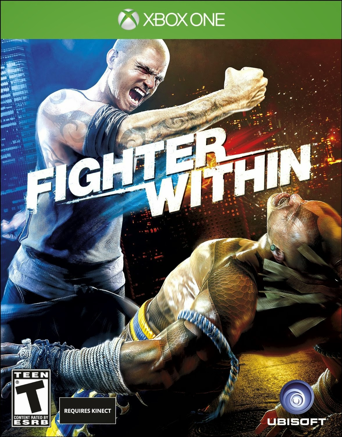 Fighting games game box