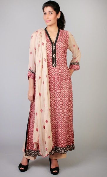 Pink Color in Pakistani Formals