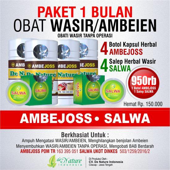 Paket Obat Herbal Wasir Hemoroid Stadium 4
