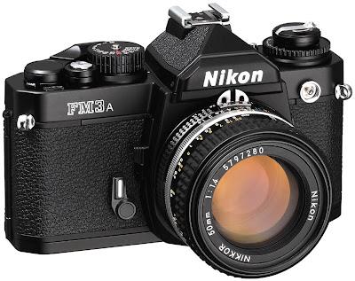 Fotografia della Nikon FM3a